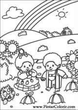 Pintar e Colorir Monchichi - Desenho 003