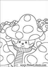 Pintar e Colorir Monchichi - Desenho 008