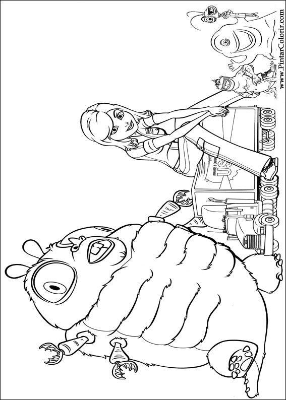 Desenhos Para Pintar E Colorir Monstros Aliens Imprimir Desenho 006