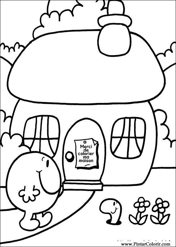 drawings to paint colour mr men print design 017
