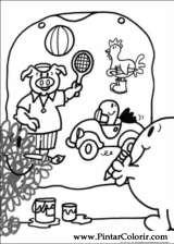 Pintar e Colorir Mr Men - Desenho 002
