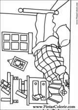 Pintar e Colorir Mr Men - Desenho 008