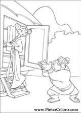 Pintar e Colorir Mulan - Desenho 011