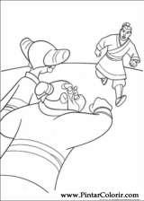 Pintar e Colorir Mulan - Desenho 030