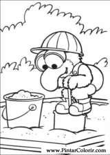 Pintar e Colorir Muppet Babies - Desenho 005