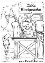 Pintar e Colorir Muppet Babies - Desenho 011