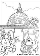 Pintar e Colorir Muppet Babies - Desenho 026