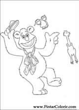 Pintar e Colorir Muppets - Desenho 005