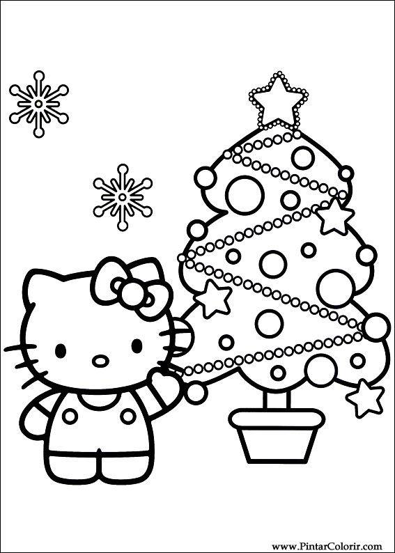 図面はペイントカラークリスマス友達に プリントデザイン019