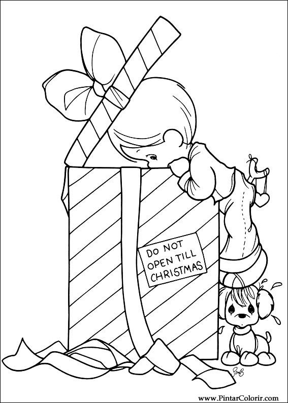 Dibujos Para Pintar Y De Navidad De Color Amigos Diseño De