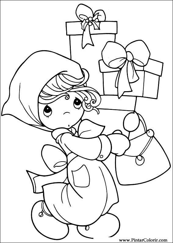 Dibujos para pintar y de Navidad de color Amigos - Diseño de ...