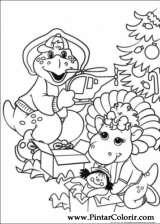 Pintar e Colorir Natal Amigos - Desenho 002