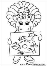 Pintar e Colorir Natal Amigos - Desenho 004