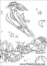 Pintar e Colorir Natal Amigos - Desenho 005