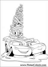Pintar e Colorir Natal Amigos - Desenho 006