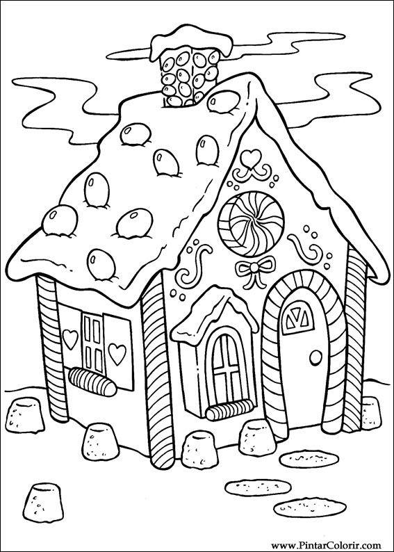 Pintar e Colorir Natal - Desenho 001