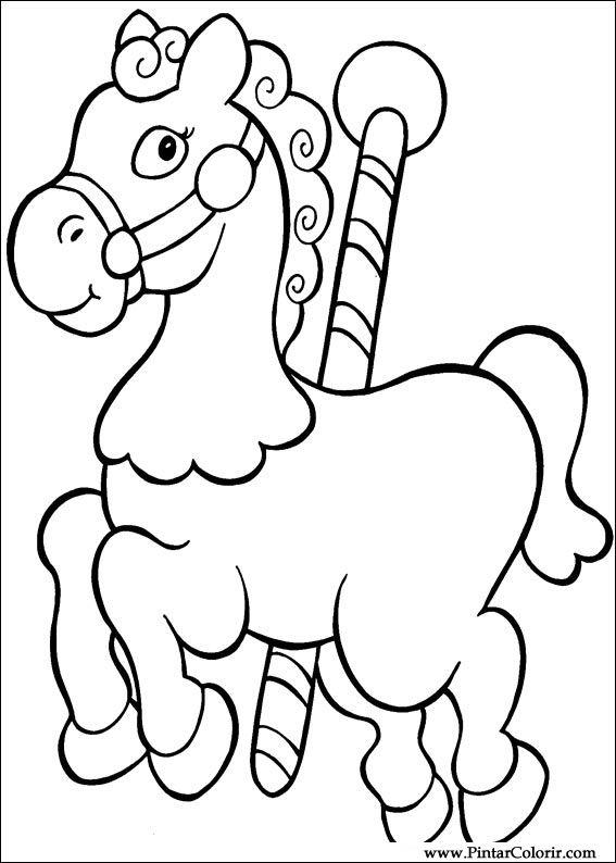 Dibujos para pintar y Color Navidad - Diseño de impresión 036