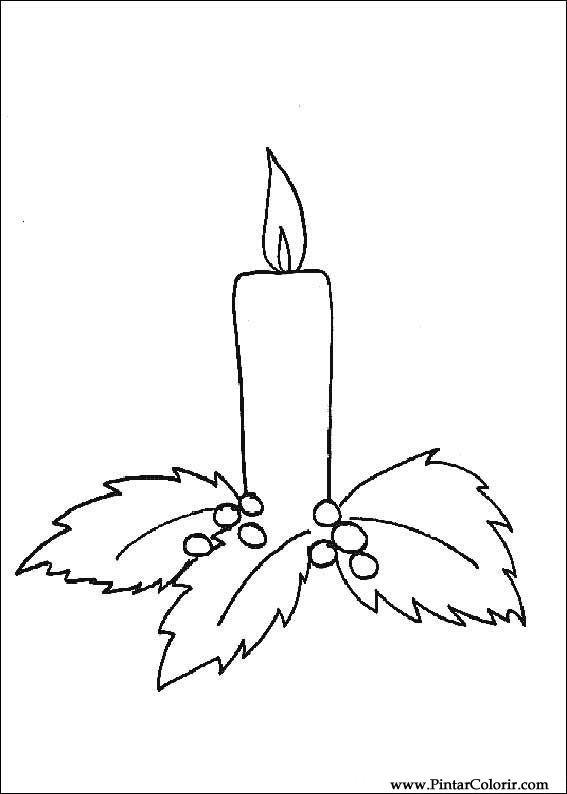 Dessins De Peindre Et Couleur De Noel Imprimer Conception 171