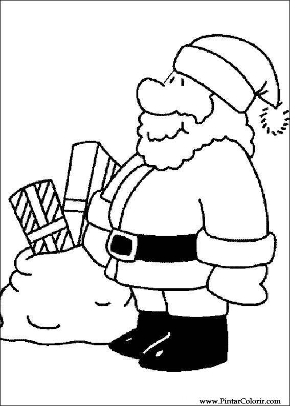 Dibujos Para Pintar Y Color Navidad Diseno De Impresion 189