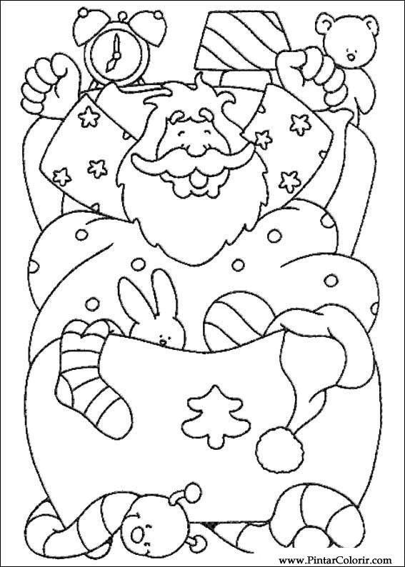 Desenhos Para Pintar E Colorir Natal Imprimir Desenho 205