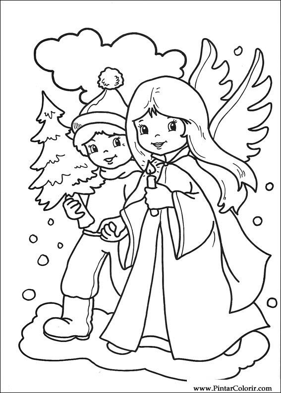 Dibujos Para Pintar Y Color Navidad Diseno De Impresion 239
