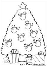 Pintar e Colorir Natal - Desenho 002