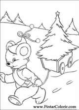 Pintar e Colorir Natal - Desenho 039