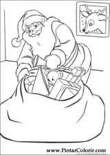 Pintar e Colorir Natal - Desenho 061