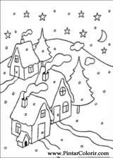 Pintar e Colorir Natal - Desenho 082