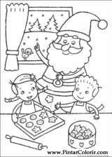Pintar e Colorir Natal - Desenho 094