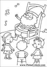 Pintar e Colorir Natal - Desenho 102