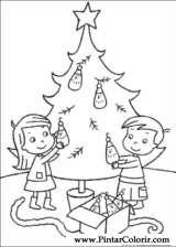 Pintar e Colorir Natal - Desenho 104