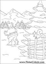 Pintar e Colorir Natal - Desenho 140