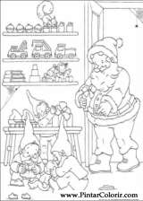 Pintar e Colorir Natal - Desenho 141