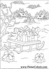 Pintar e Colorir Natal - Desenho 145