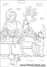 Pintar e Colorir Natal - Desenho 150