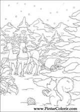 Pintar e Colorir Natal - Desenho 151