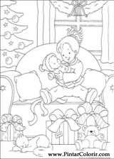 Pintar e Colorir Natal - Desenho 158
