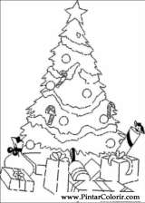 Pintar e Colorir Natal - Desenho 183