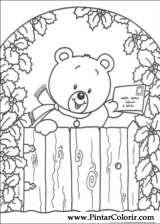 Pintar e Colorir Natal - Desenho 216