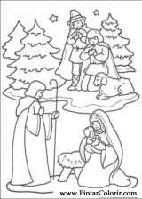 Pintar e Colorir Natal - Desenho 221