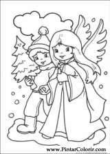 Pintar e Colorir Natal - Desenho 239