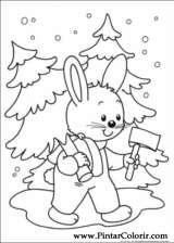 Pintar e Colorir Natal - Desenho 245