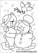 Pintar e Colorir Natal - Desenho 247