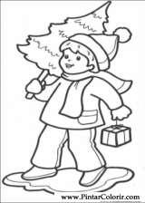 Pintar e Colorir Natal - Desenho 252