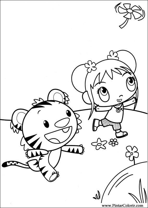 Desenhos Para Pintar e Colorir Ni Hao Kai Lan - Imprimir Desenho 041