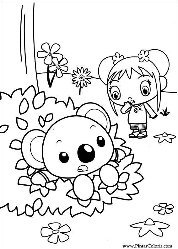 Desenhos Para Pintar e Colorir Ni Hao Kai Lan - Imprimir Desenho 047