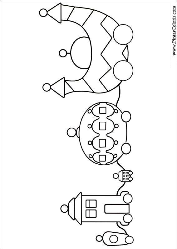 çizimler Boya Ve Renk Gece Bahçesi Için Baskı Tasarım 009