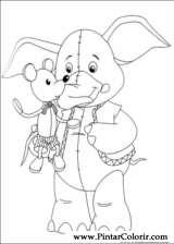 Pintar e Colorir Noddy - Desenho 026