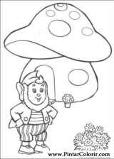 Pintar e Colorir Noddy - Desenho 098